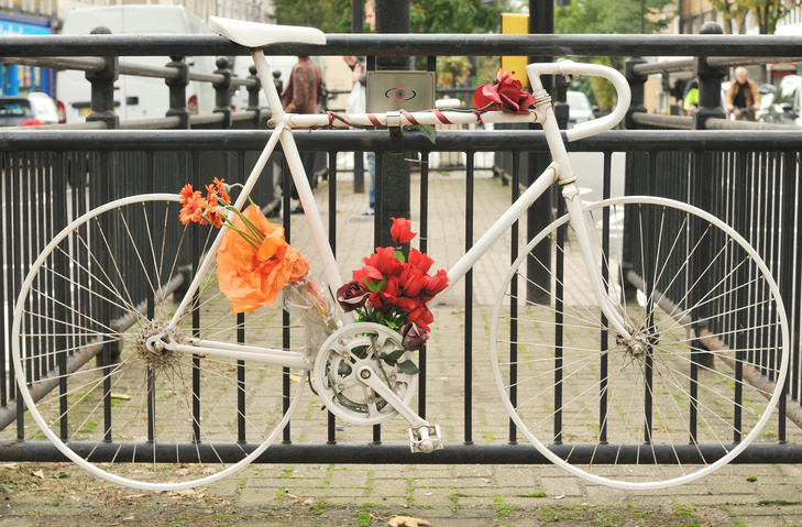 Ghost Bike Roadside Memorial
