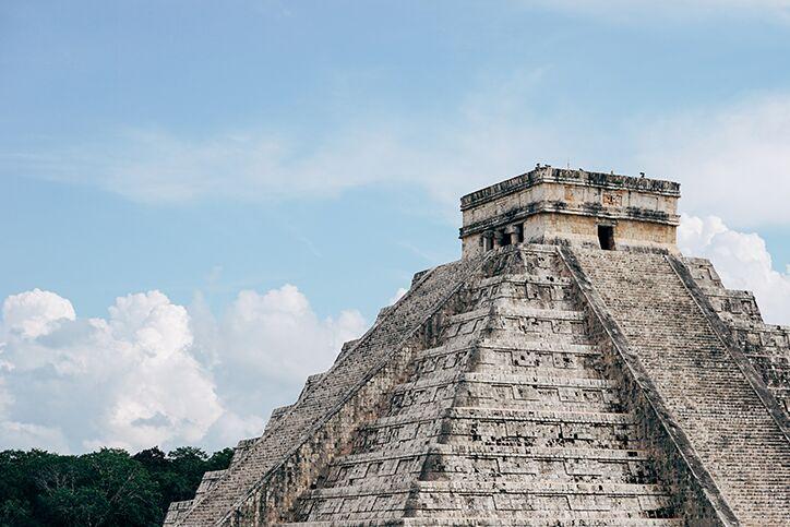 Ancient Maya Chichen Itza Mexico