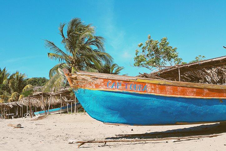 Honduras boat