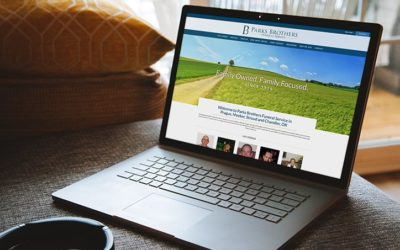 Out with the Old — April's New Frazer Funeral Home Websites