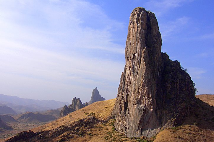 Rhumsiki Peak in Cameroon