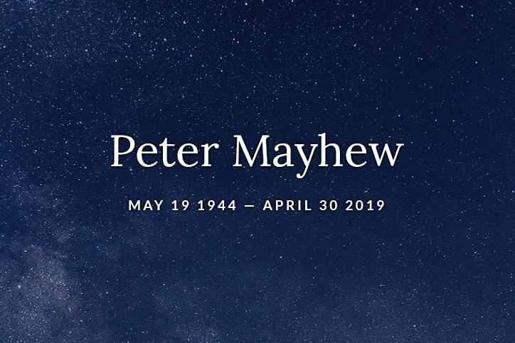 Peter Mayhew text