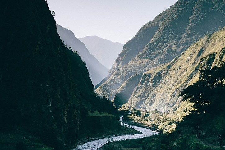 Nepal river