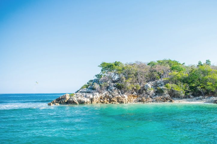 Island of Labadee in Haiti