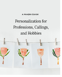 A Frazer Guide - Personalization for Professions, Callings, and Hobbies
